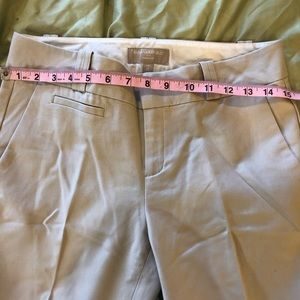 Banana Republic 4L Khaki Work Pants NWOT